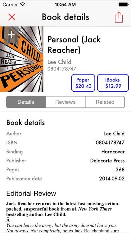 BookBargain - Free eBooks - Recommendations,tracker & Price scanner