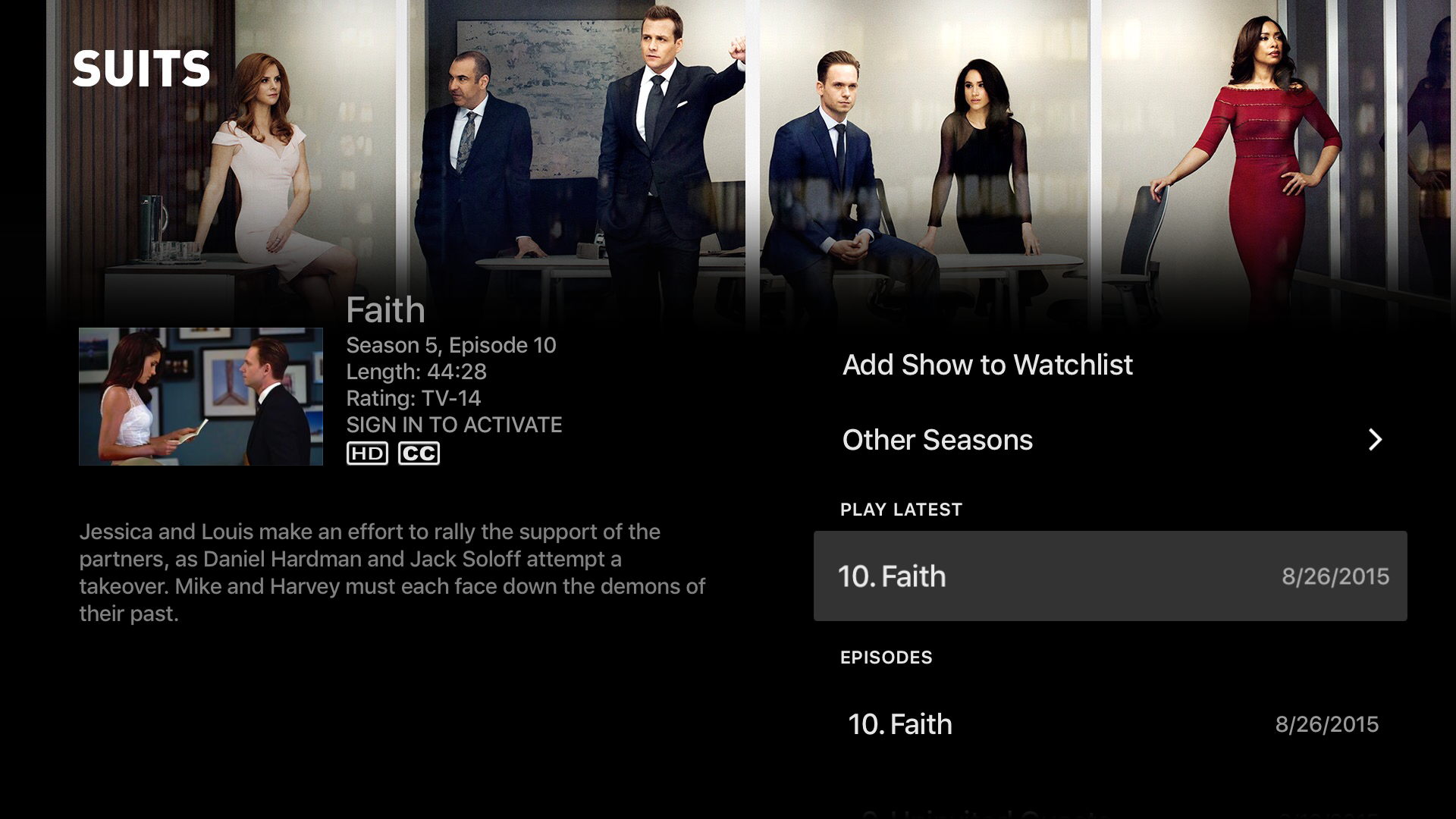 USA Network screenshot 11