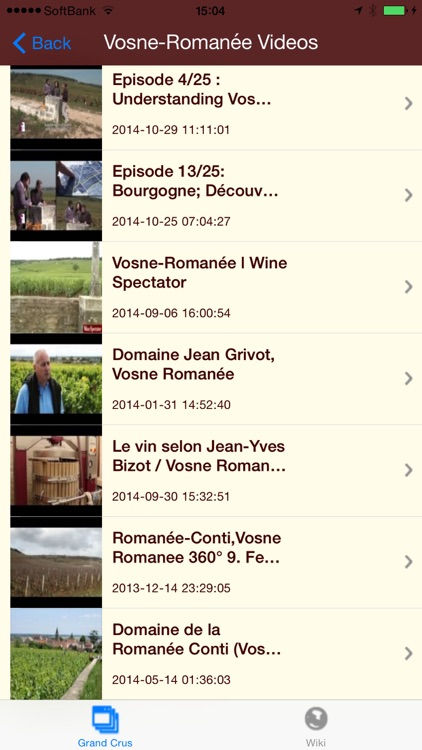 Burgundy Wines screenshot-3
