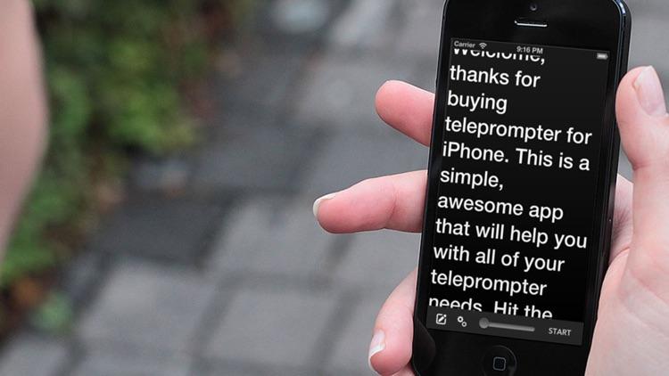 Teleprompter Pro Lite.