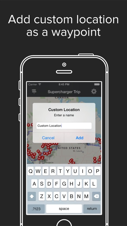 Supercharger Map Road Trip Planner for Tesla EV Owners