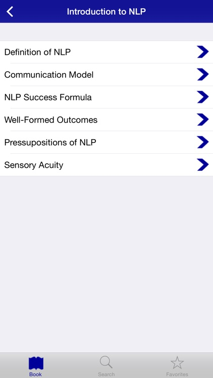 NLP Practitioner Training App