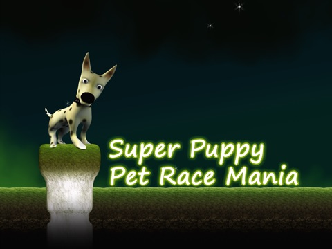 Super Puppy Pet Race Mania - best speed racing arcade game-ipad-1