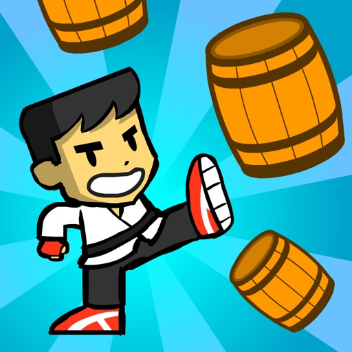Barrel Kick Fighter 2: An addictive arcade style action free game