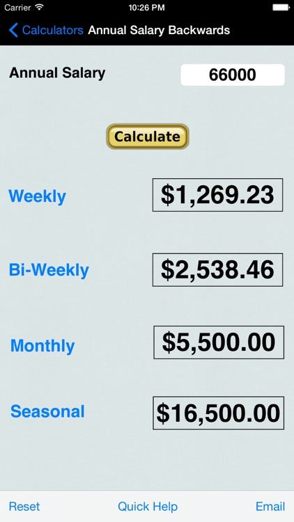 Salary, Income, Annual Income, Money Collection, Percentages, Averages, & Distances Calculators screenshot-3