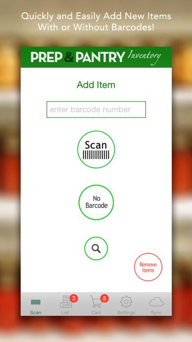 Prep & Pantry Lite - Food Storage Organizer screenshot one