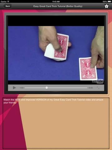 Magic Hat: Top secret magic and card tricks videos lesson-ipad-2
