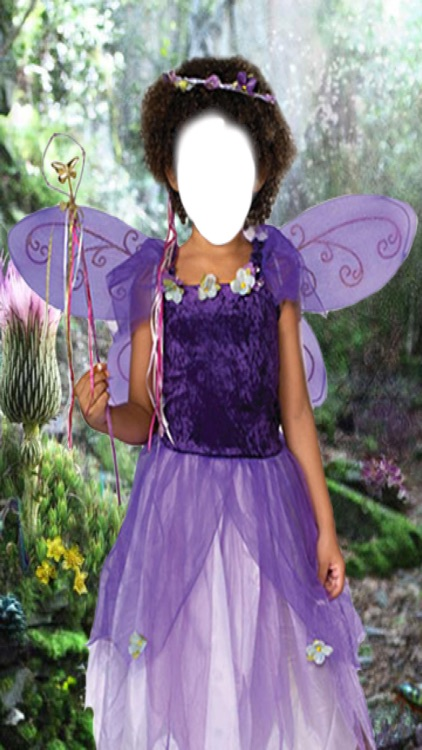 Fairy Dress Photo Montage