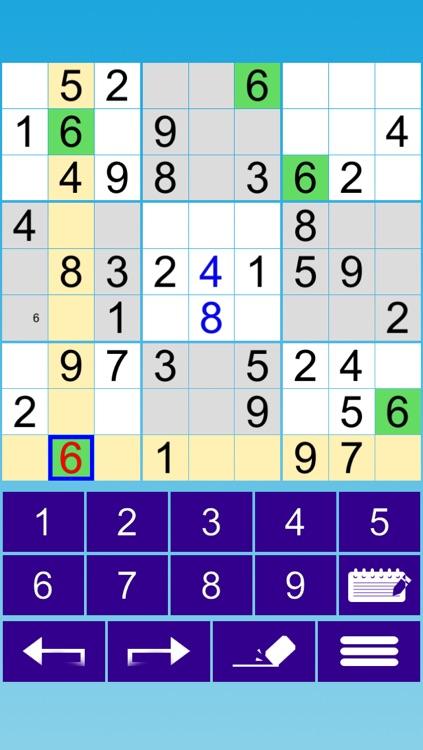 :-) Sudoku screenshot-4
