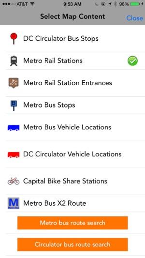 MetroTransit: Metro, Metrobus, Circulator en App Store