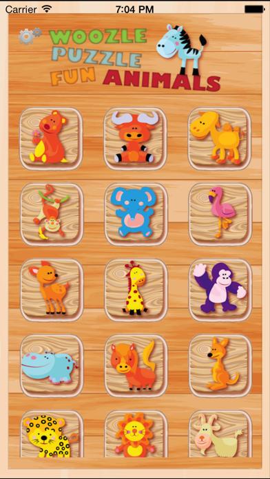 点击获取Animal Kingdom Fun Puzzle Woozzle