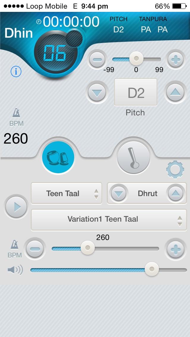 Screenshot for iSangat Tabla & Tanpura in India App Store
