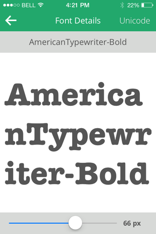 Fonts + - náhled