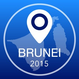 Brunei Offline Map + City Guide Navigator, Attractions and Transports