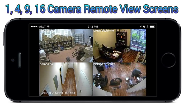 iDVR-PRO Viewer: Live CCTV Camera View and Playback on the