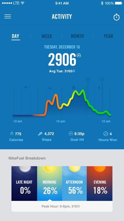 Nike+ Fuel screenshot-3