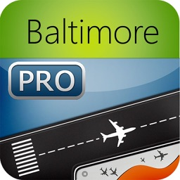 Baltimore Washington Airport Pro (BWI/DCA/IAD) Flight Tracker Premium radar