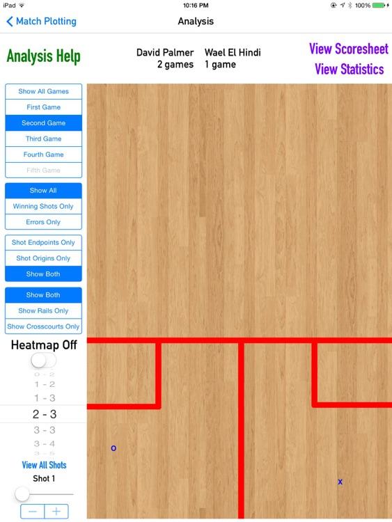 CourtVision - Squash Strategy App screenshot-3