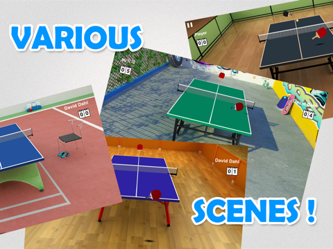 Скачать Virtual Table Tennis HD