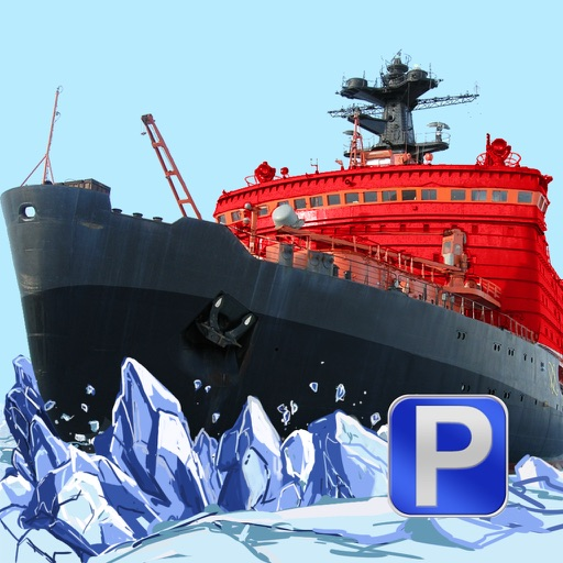 3D Icebreaker Parking PRO - Full Boat Driving Simulation Race Version