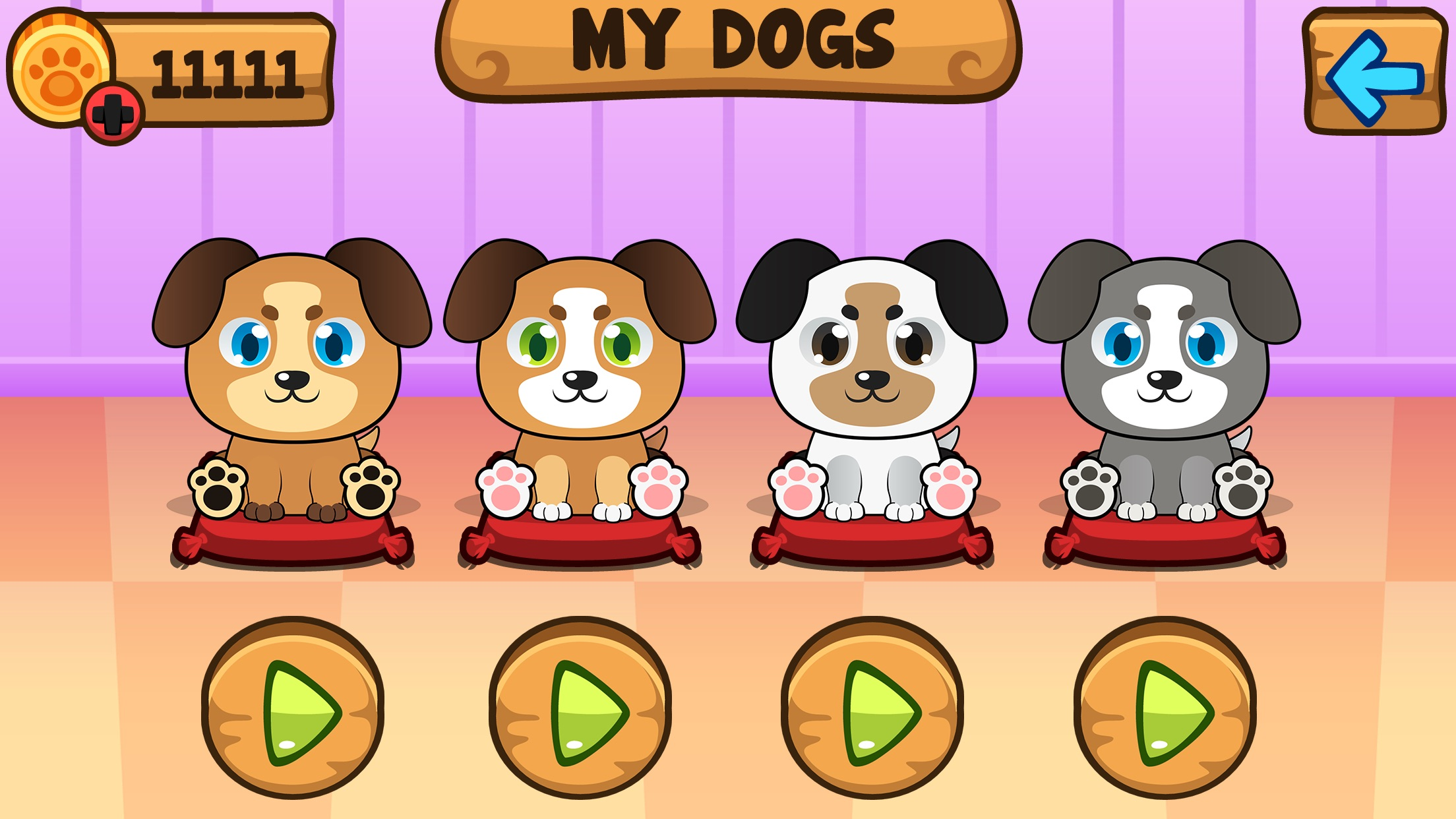 My Virtual Dog ~ Pet Puppy Game for Kids, Boys and Girls Screenshot