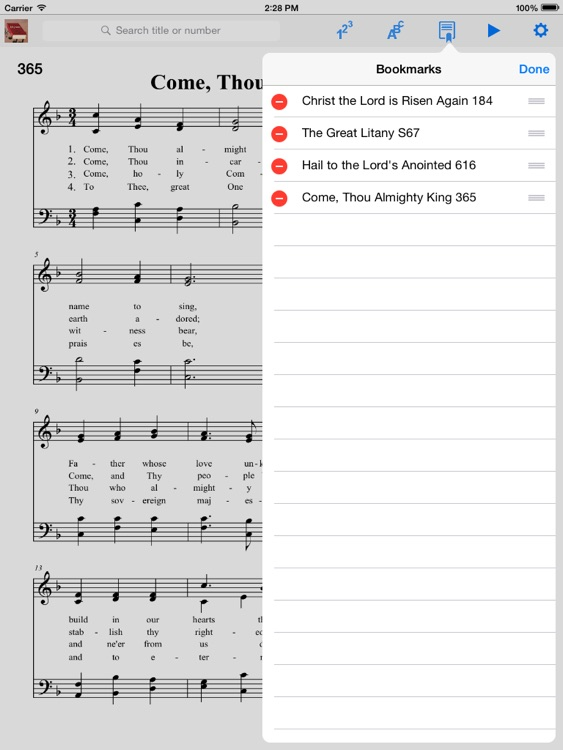 Episcopalian Hymnal screenshot-3