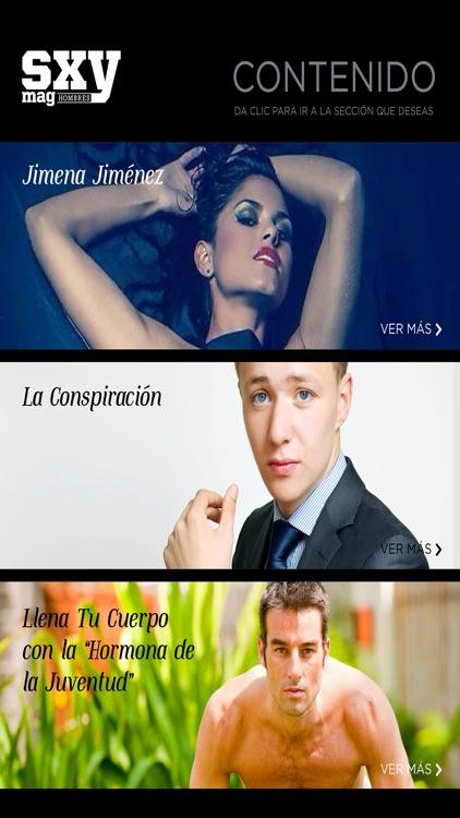 Sxy Mag Hombres Magazine - ( Latin America ) screenshot-4