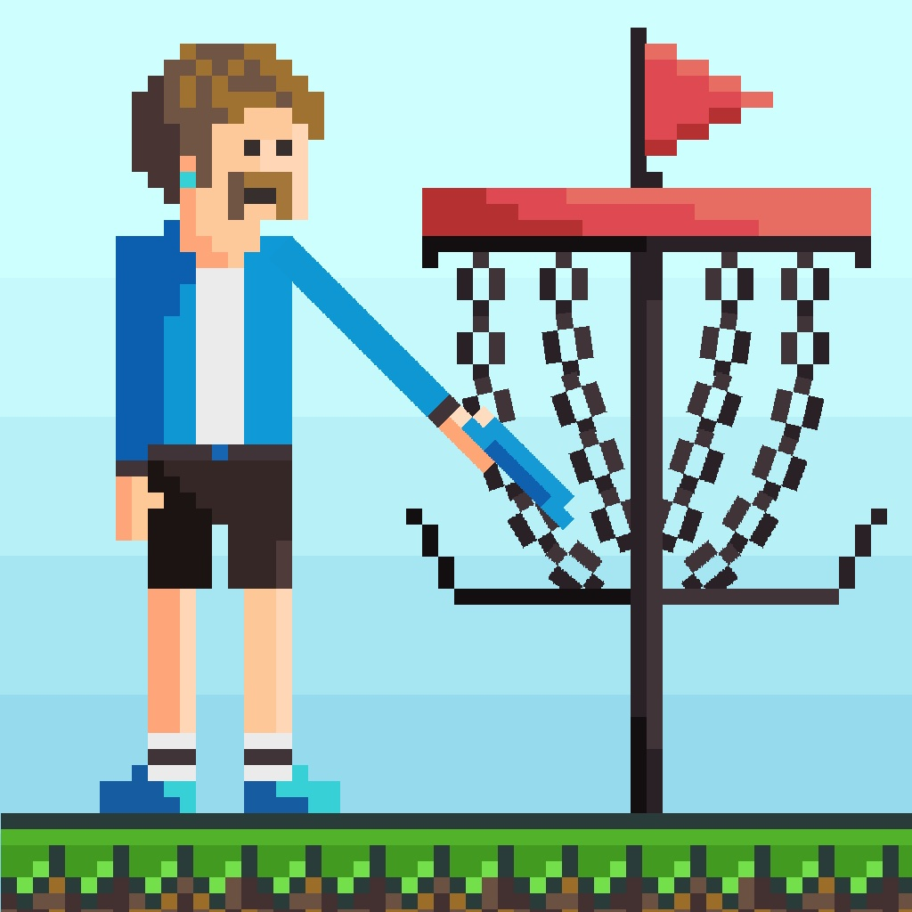 Pixel Disc Golf
