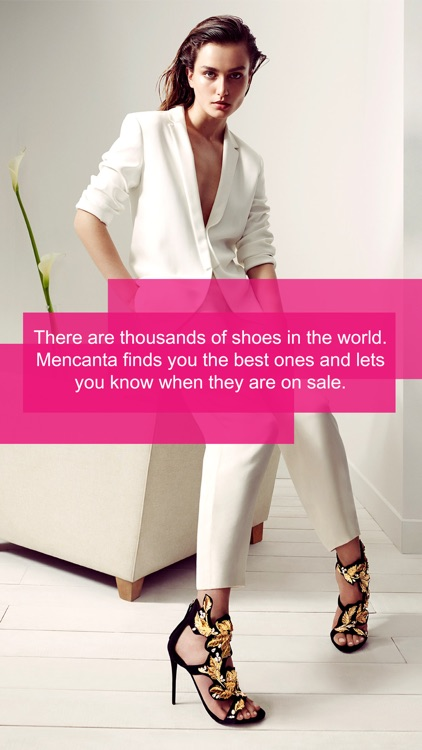 Mencanta Shoes – Offers in sandals, boots, heels and sneakers. Exclusive discounts on shoes from Manolo Blahnik, Christian Louboutin, Jimmy Choo, Fred Perry, New Balance, Justfab, Jeffrey Campbell, Clarks, Converse, Sam Edelman and more.