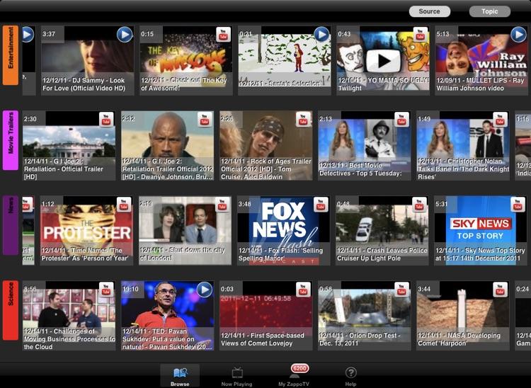 ZappoTV HD