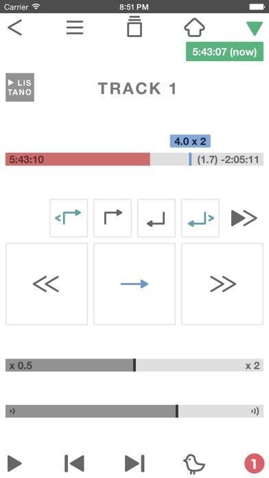英語リスニングを楽しむアプリ、リスタノ screenshot1