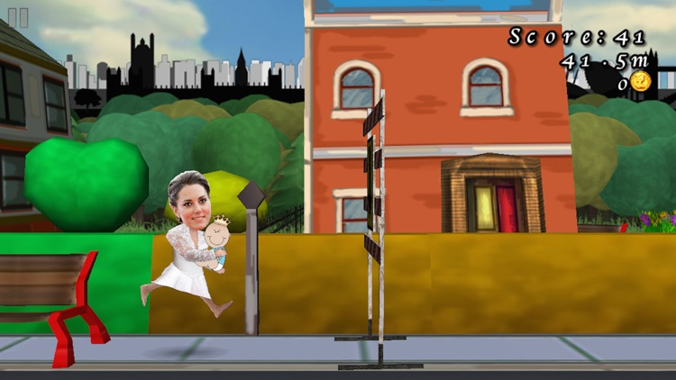 Royal Baby Run! Keep Calm And Carry On RUNNING! (FREE Edition) screenshot-4