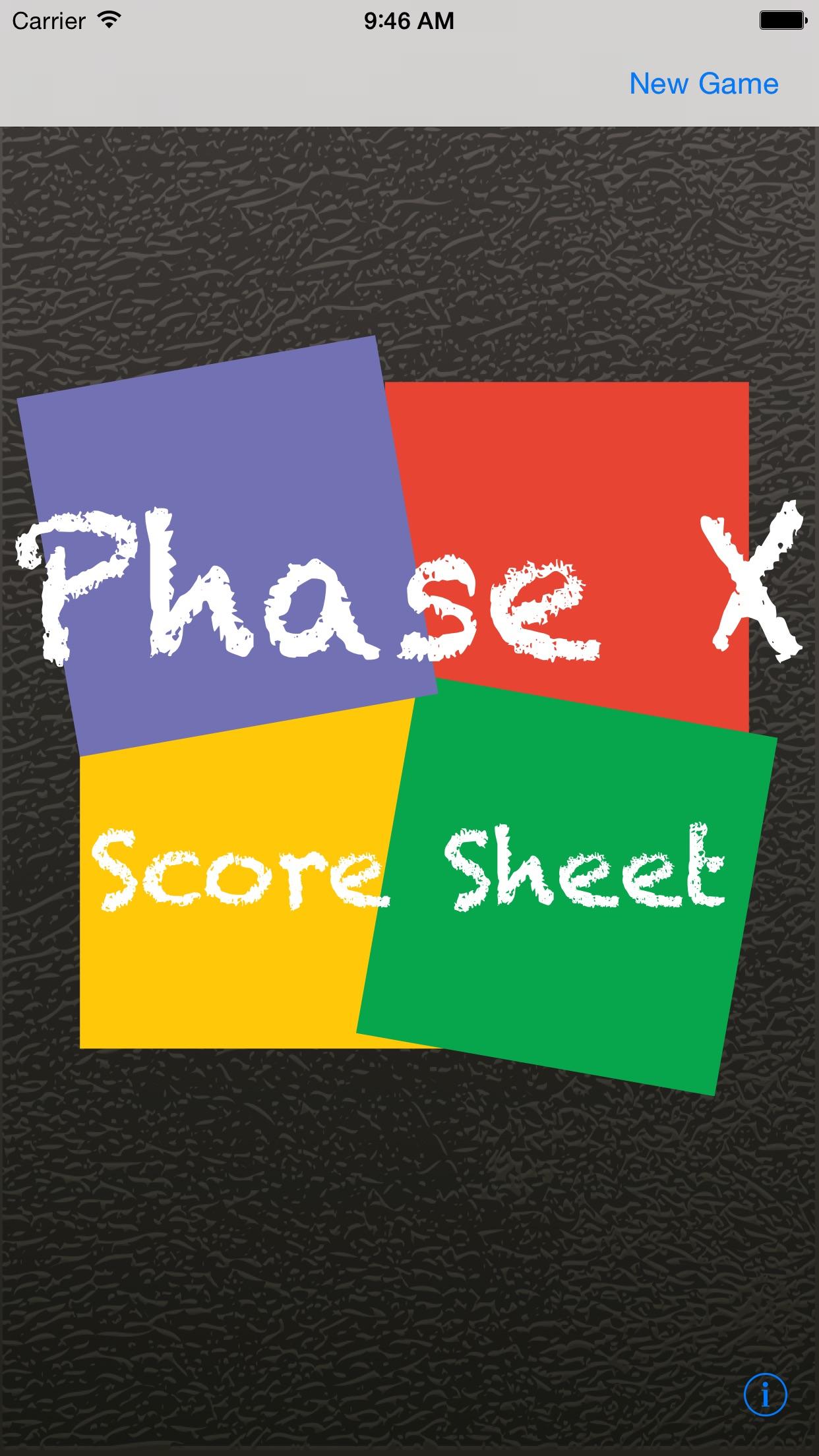 Phase 10 Score Sheet Screenshot