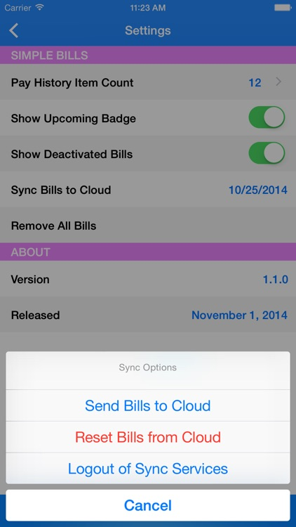 Simple Bill Tracking and Reminders screenshot-4