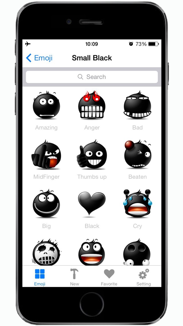 Emotion icons & Emoji keyboard & Animated Emoticon.s Screenshot