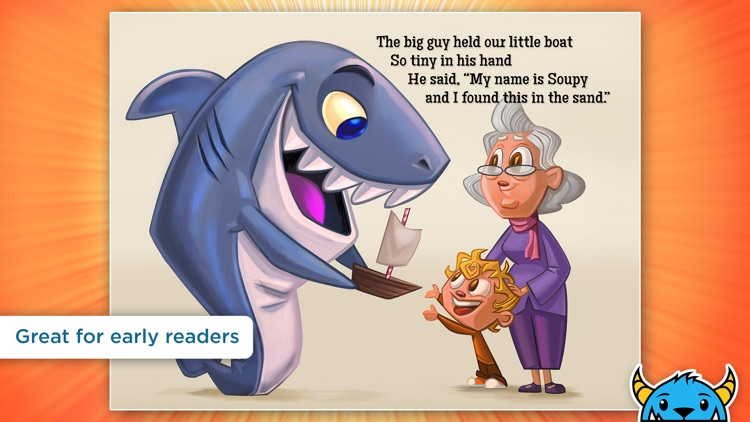 A Shark Knocked On the Door - An Interactive Animated Storybook App For Kids screenshot-0