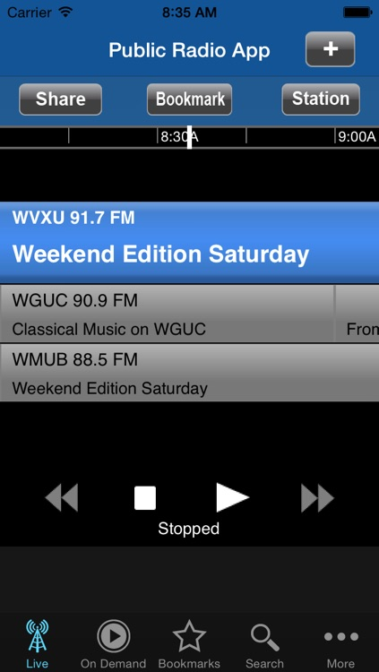 Public Radio App