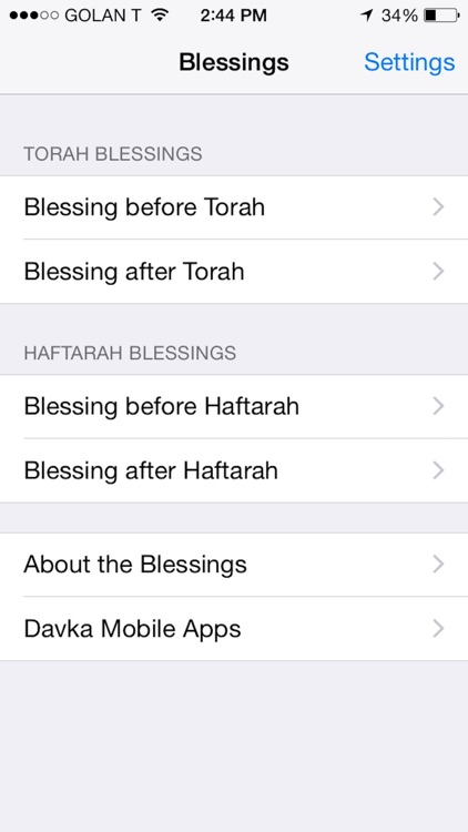 iBless Torah screenshot-4