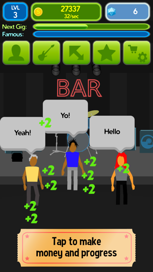 Band Clicker - Rock The Stadium on the App Store