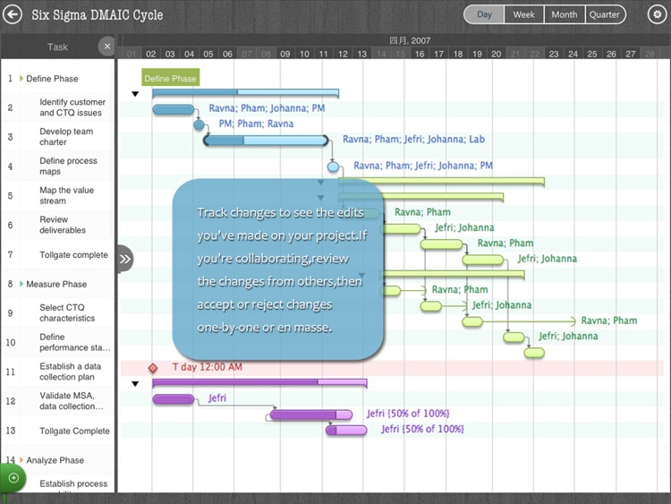 Project Manager - Plan, Task, Schedule Management & Gantt chart editor for MS Project XML files screenshot-4