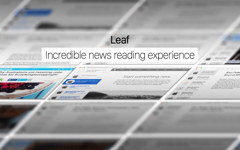Leaf - RSS News Reader Screenshots