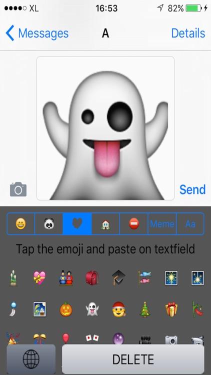 Big Emoji Keyboard screenshot-3