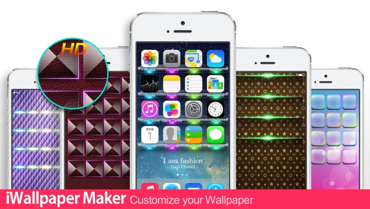 iWallpaper Maker : Custom theme Wallpapers ( for home screen, lock screen, kakao, whatsapp, Messenger) screenshot-3