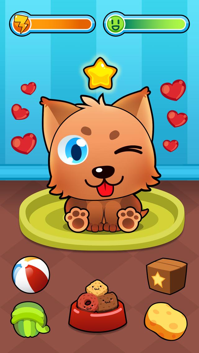 My Virtual Pet - Cute Animals Free Game for Kids Screenshot
