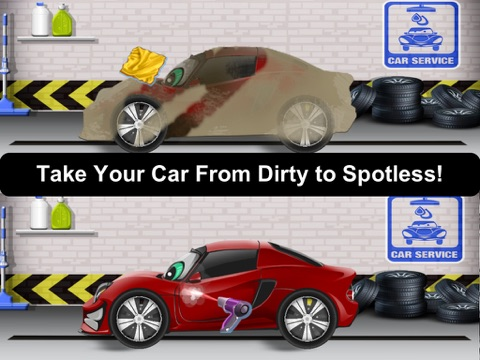 Awesome Lightning Fast Car Wash Salon and Auto Repair Game For Kids-ipad-1