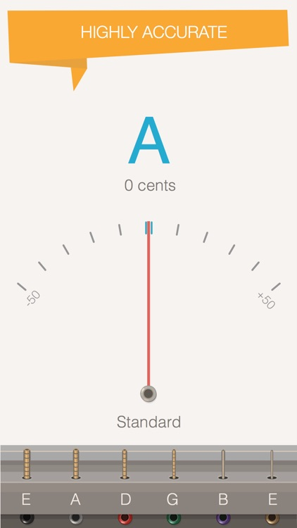 Silvertune: Guitar Tuner screenshot-0