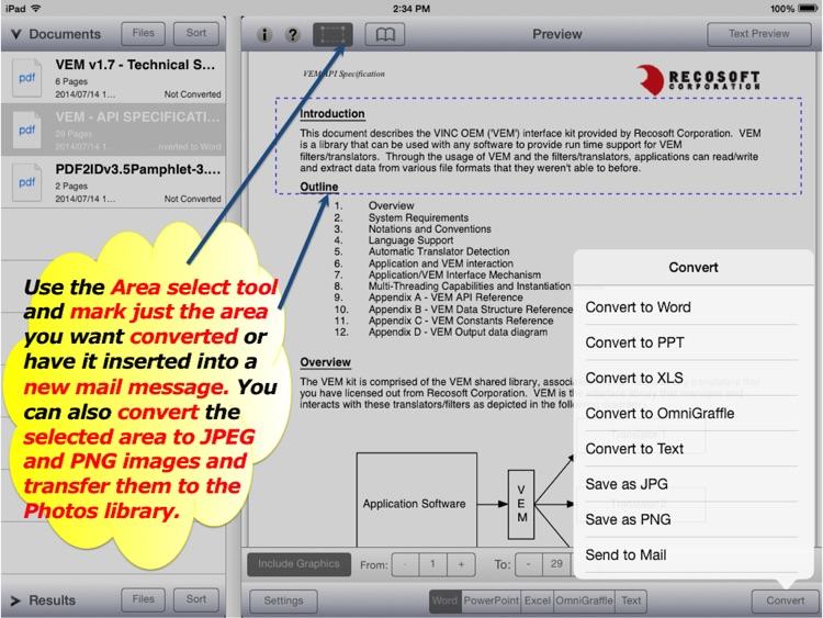 PDF2Office OCR for Office 365 screenshot-3
