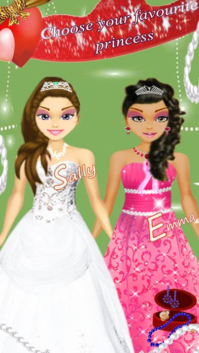 Princess Prince Wedding Salon, beauty fashion girls kids games screenshot two