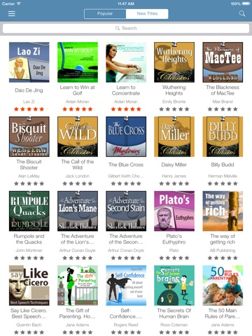 Audiobooks from VoxClub: download and listen the best audio books Скриншоты8