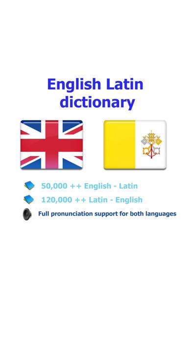 English Latin best dictionary - Anglicus Latine optimum dictionnaireのおすすめ画像1